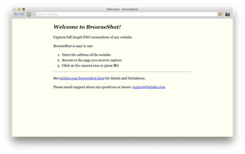 BrowseShotアイコン