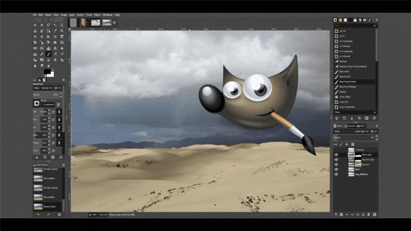 GIMP for mac os xアイコン