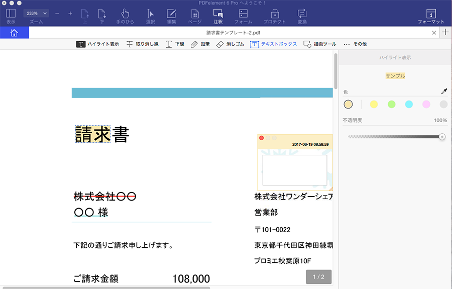 iPad Adobe Reader PDF 閲覧