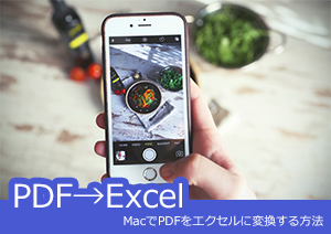 MacでPDFをエクセルに変換する方法