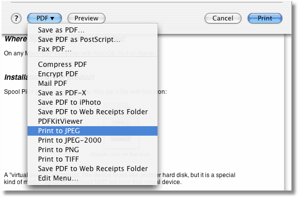 Mac用PDFクリエーター