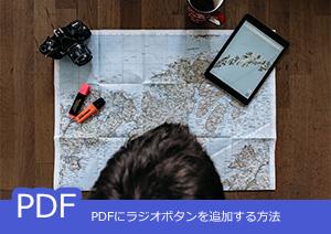 PDFにラジオボタンを追加する方法