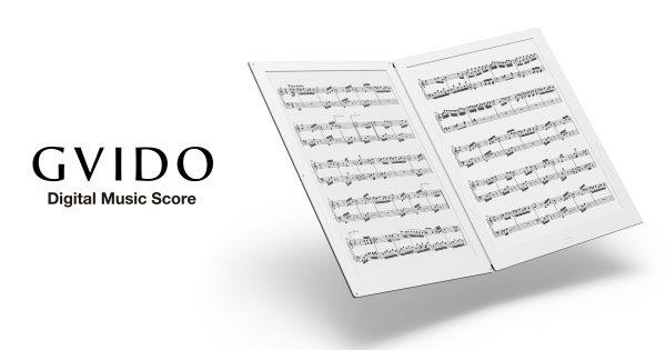 2017年は電子楽譜が流行る? ——電子楽譜専用端末「GVIDO」