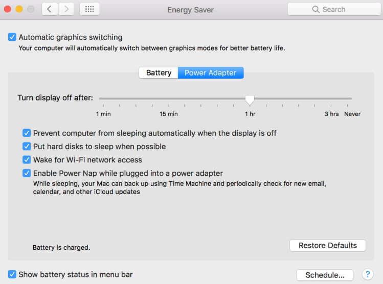 macOS 10.14でバッテリーの問題を修正する方法