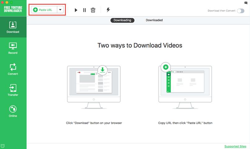 MacでYouTube動画を無料でダウンロード保存