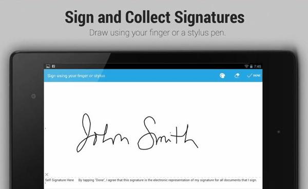 【ビジネスマン必見!】AndroidでPDFファイルに直接電子署名ができるオススメアプリ5選