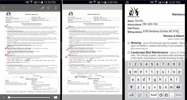 PDF 電子署名