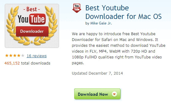 macでYouTubeビデオを保存