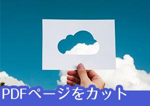【PDF トリミング】要らない部分はカット!PDFトリミング/一部を切り取りする方法