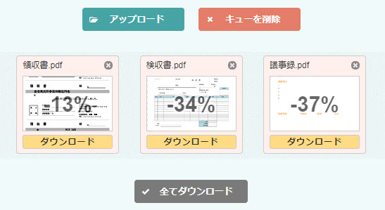 PDF サイズ 縮小