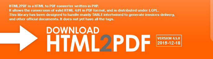 HTML2FPDF
