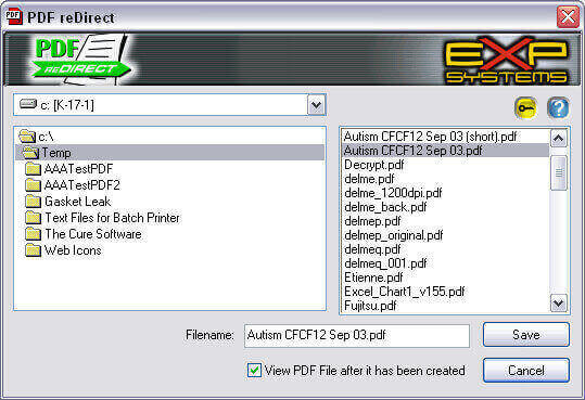 PDF redirectのPDF編集画面