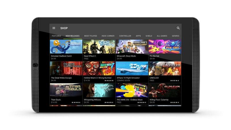 NVIDIA SHIELD Tablet K1 ゲーミングタブレット