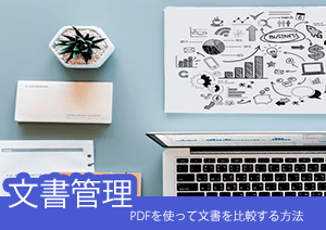 PDFを使って文書を比較しよう