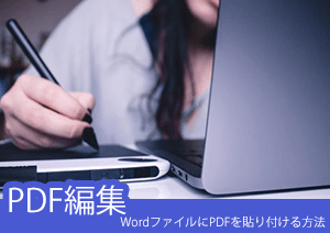WordファイルにPDFを貼り付ける三つの方法・無料方法でPDFを挿入できる!