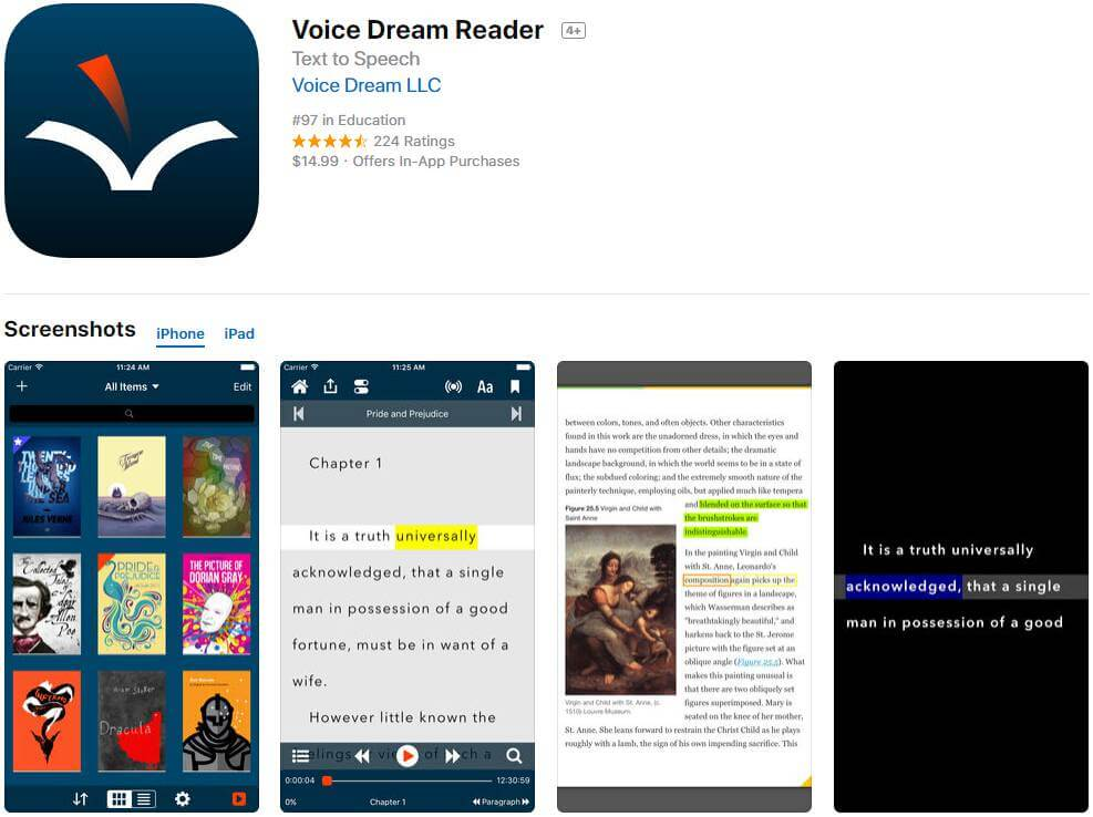 how to read pdf books on iphone