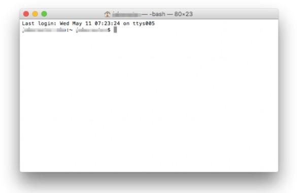 mac book 10.14 画面 ちらつく finder terminal